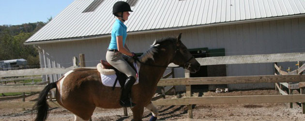 Maddie Nagel has a passion for riding horses