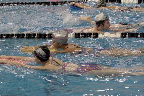 Girls Swim Team Tryouts