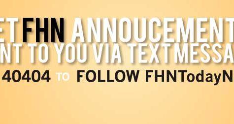 Twitter Text Announcements