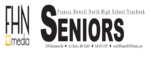 Senior Ad Deadline Nov. 14