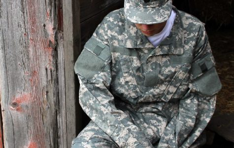 Battle with PTSD inhibits a vet's transition home