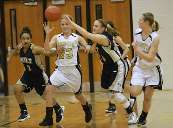 Varsity Girls Basketball vs Holt [Photo Gallery]