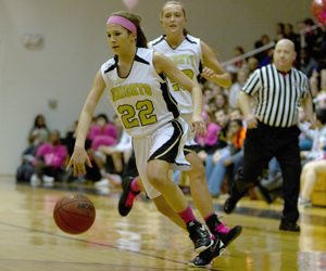 Girls Pink Ribbon Game [Photo Gallery]