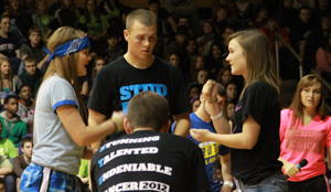 Relive the Snowcoming pep assembly in 60 sec