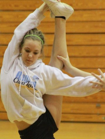 High hopes from cheerleading tryouts
