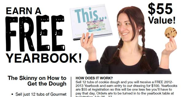 Here's how you can earn your 2013 yearbook for free