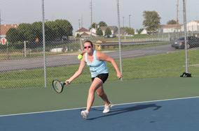 Day One Girls Tennis GAC Recap