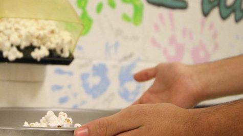 Jesse Davila Makes Popcorn in Locker
