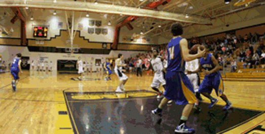 Kyle Lemons Dunks on Howell [GIF]