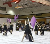 Winter Guard Victorious in Art in Motion Competition