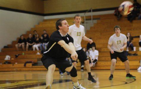 Varsity Volleyball Knights beat the Bulldogs