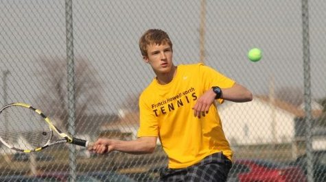 4-3 Boys Tennis vs. Zumwalt West [Photo Gallery]