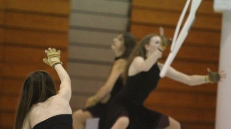 4-16 Winter Guard & Drumline Final Performance [Photo Gallery]