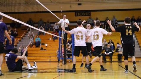 Boys Varsity Volleyball gets road win against Pattonville