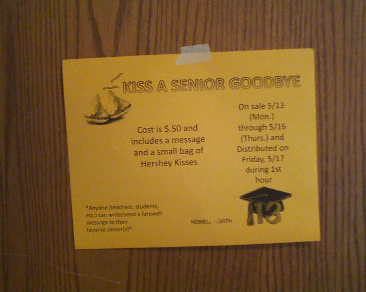message for seniors on farewell