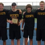 Boy's Tennis Ends Strong