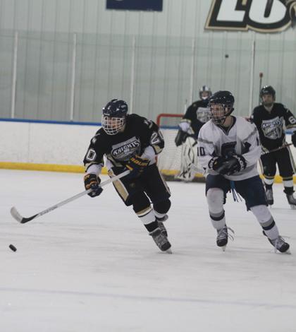 2-11 V Hockey Vs. Central [Photo Gallery]