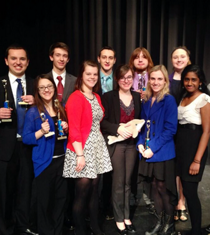Speech and Debate Advance in Competitions