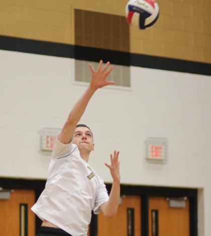 4-16 V Boys Volleyball vs. Ritenour [Photo Gallery]