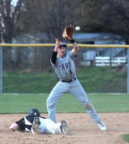 4-8 V Boys Baseball vs. Troy [Photo Gallery]