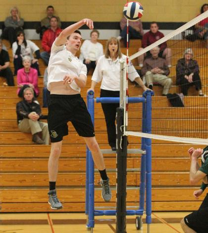 4-30 V Boys Volleyball vs Pattonville [Photo Gallery]