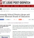 Normandy School District drops suit against Missouri Board of Education   News
