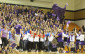 Last year's senior class participates in the spirit meter competition. StuCo decided to have this event to increase school spirit for the Homecoming game. (photo by ashleigh jenkins)