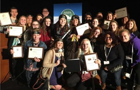 FHN Student Journalists Return From D.C. With Top-National Awards