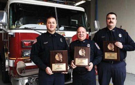 Fireman Earns Life Saving Award