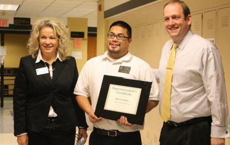Santos Named FHSD Teacher of the Year