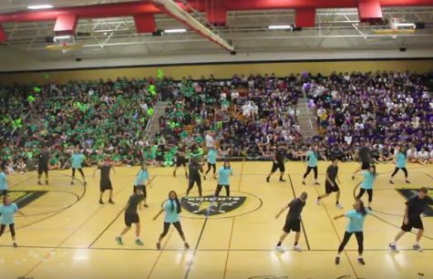 FHN Studline Performance at the FHN Fall 2015 Pep Assembly [Video]