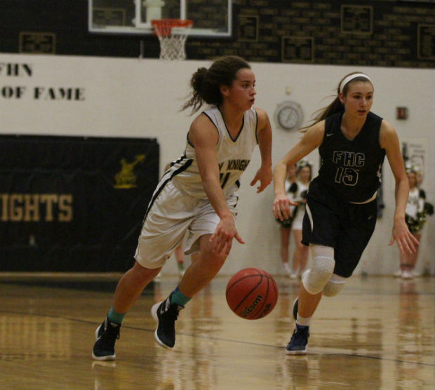 12-18 Varsity Girls Basketball vs. FHC