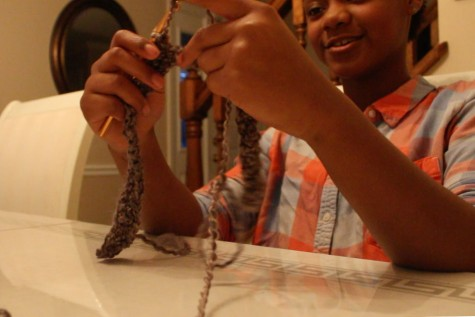 Essence Green Creates Small Business from Crocheting