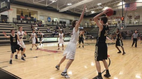 3-3 Varsity Boys Basketball Districts vs. FZS [Photo Story]