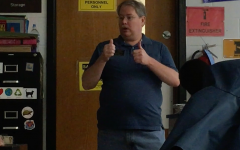 Interpreter Thomas Skinner Helps Students Communicate