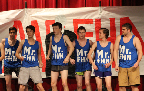 The Guys Prepare for the Mr. FHN Competition