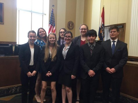 Mock Trial Team Competes at State