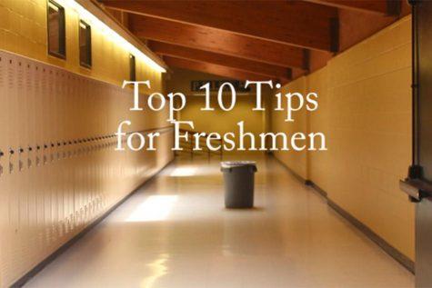 Top 10 Tips for Freshmen