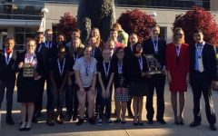 Speech and Debate Participates in Districts