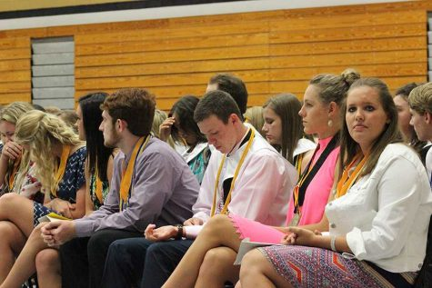 Seniors Honored at Awards Night, Prepare for Graduation