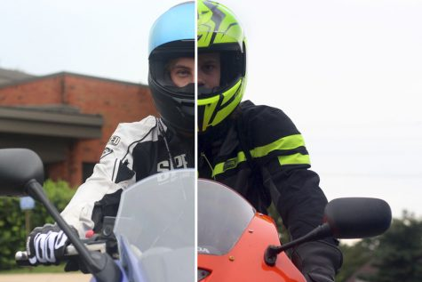 FHN Students Ride Motorcycles to School