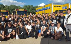 Knightpride Marching Band Returns from Iowa with First-Place Awards