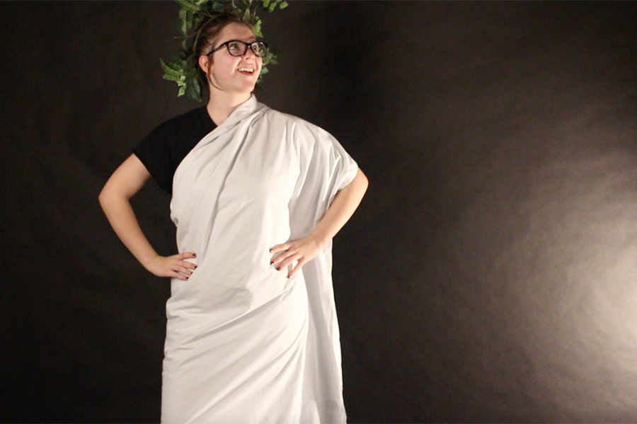 How to Wrap a Toga