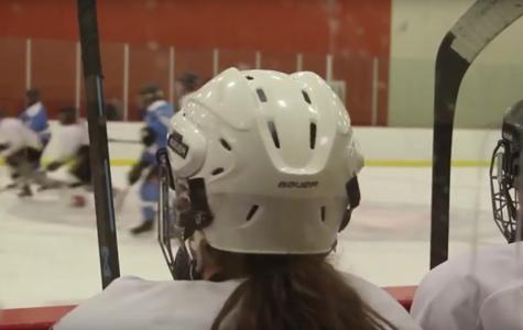 Hannah Spain Plays Hockey For The Knights