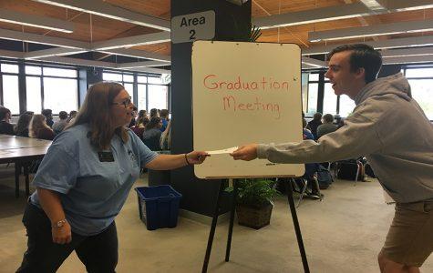 Senior Cap and Gown Graduation Meeting on Nov. 2