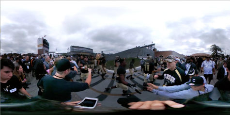 Purdue University – The Homecoming Football Game Experience [360 Video]
