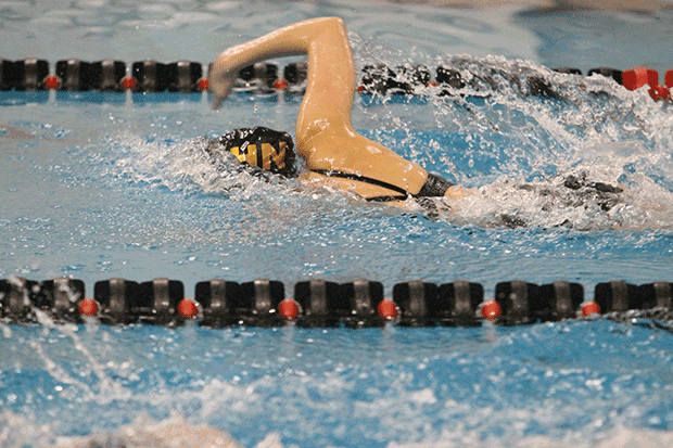 Girls Swim on to Relays
