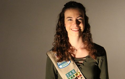 Michaela Erfling Goes for Gold in Girl Scouts