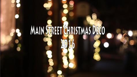 Main Street Christmas Decorations