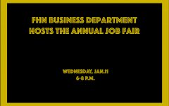 FHN Business Department Hosts Annual Job Fair